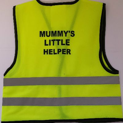 Childrens High Visibility Safety Vest 1