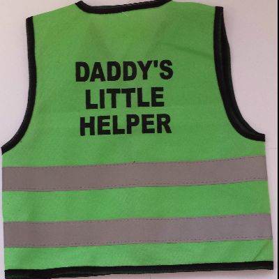 Childrens High Visibility Safety Vest 2
