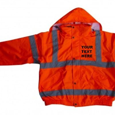 High Visibility Bomber Jacket canary