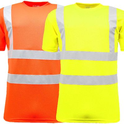 High Visibility Crew Neck T Shirts Doncaster Lichfield