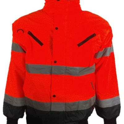 High Visibility Fleece Bodywarmer (Reversible) Finland