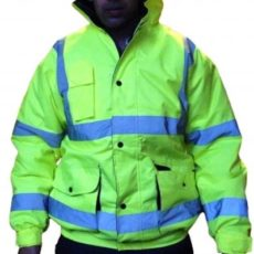 High Visibility Waterproof Bomber Jacket alicante