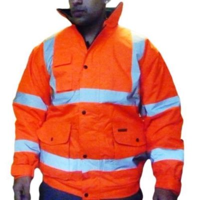 High Visibility Waterproof Bomber Jacket barcelona