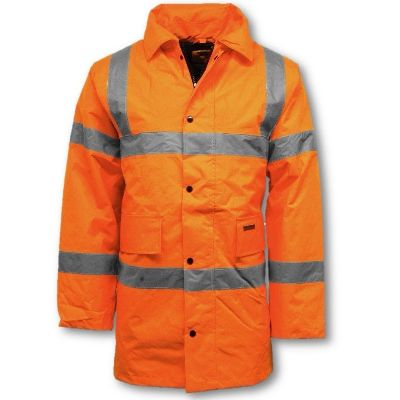 High Visibility Waterproof Parka Jacket birmingham