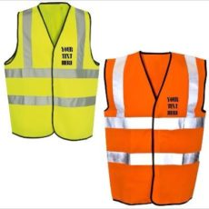 Kids High Visibility Safety Vest – Custom Printed devon dorset