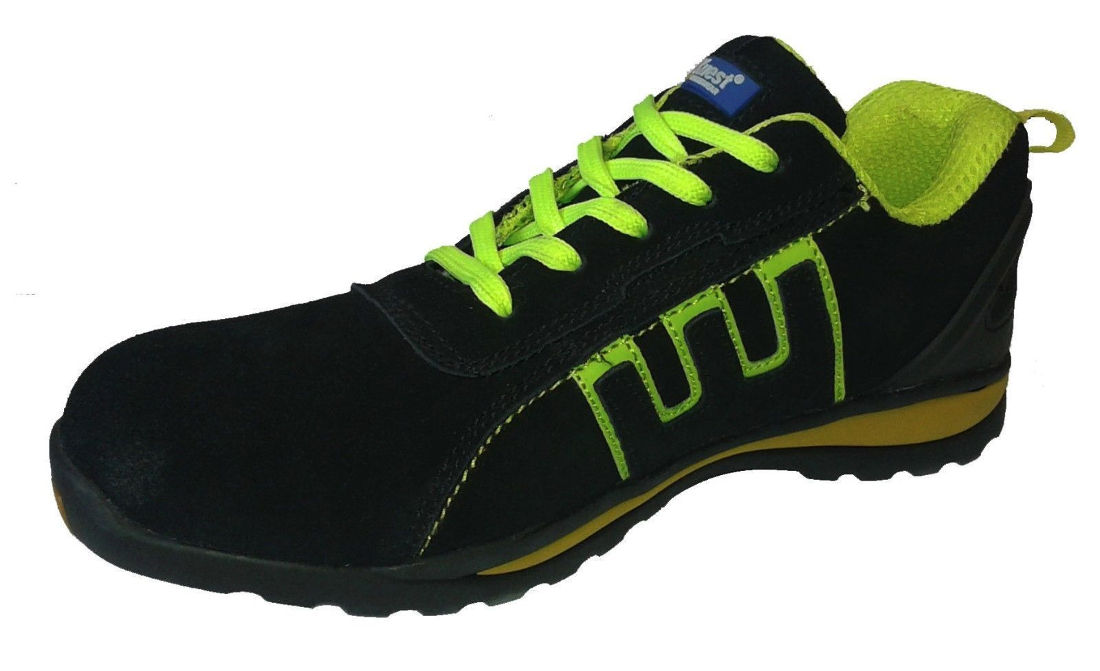 Mens Safety Basic Trainers green