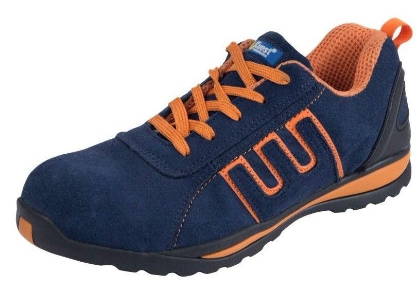 Mens Safety Basic Trainers orange
