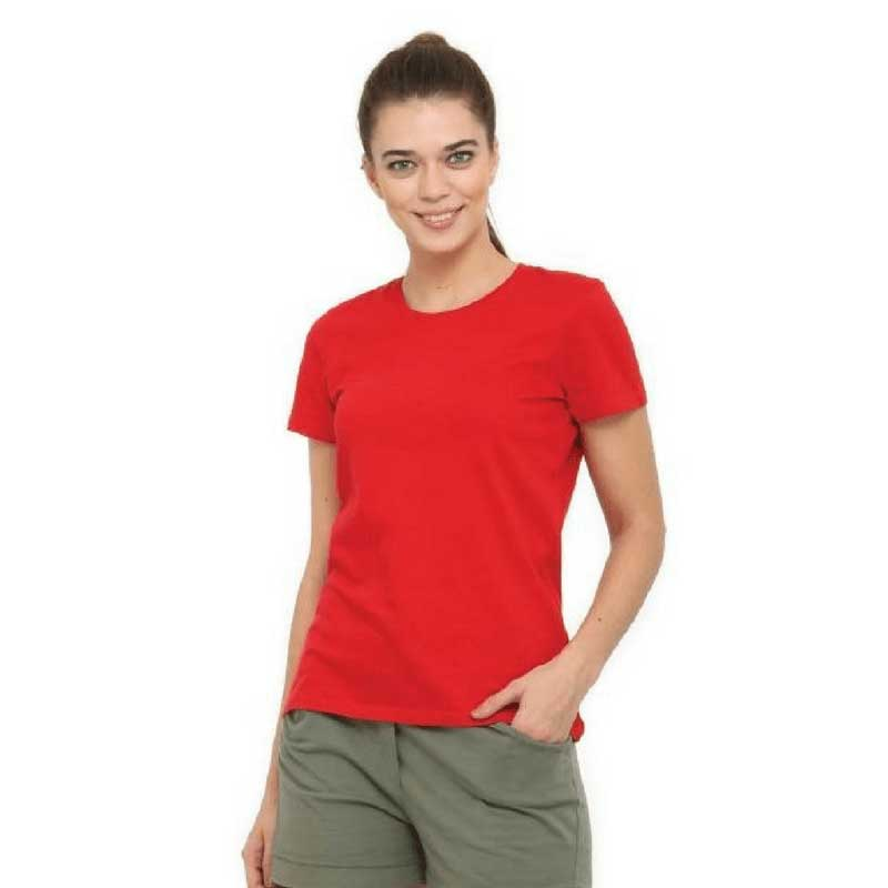 Womens Short Sleeved Cotton Tshirt 13 Colours WCS150