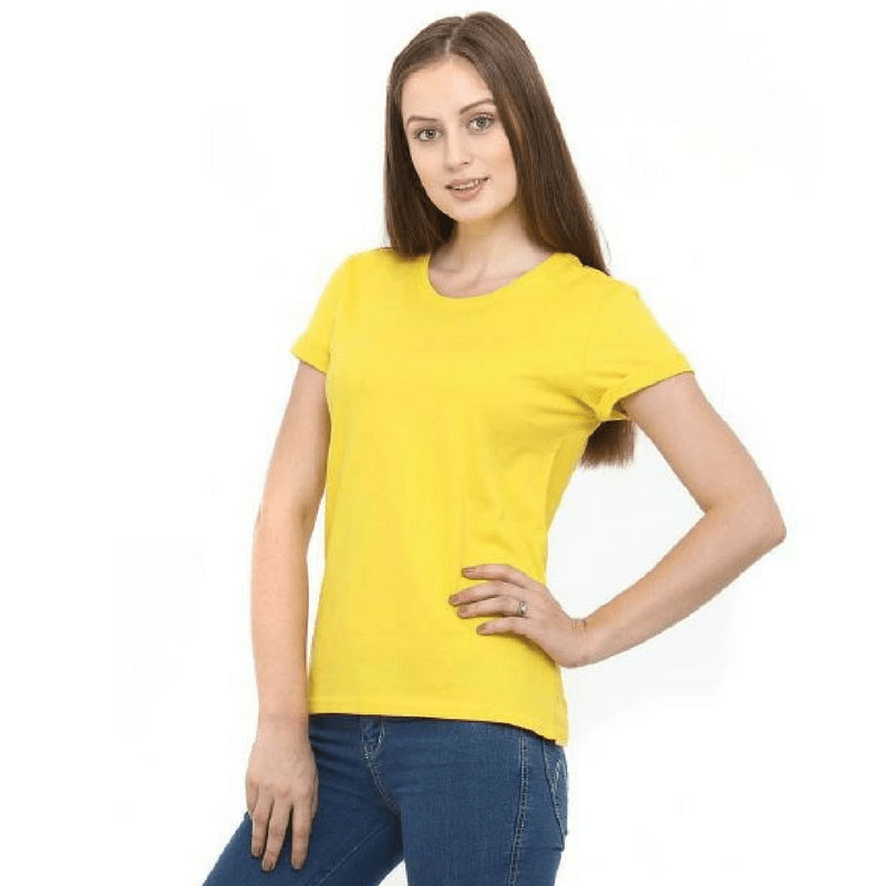 Womens Short Sleeved Cotton Tshirt 14 Colours WCS180