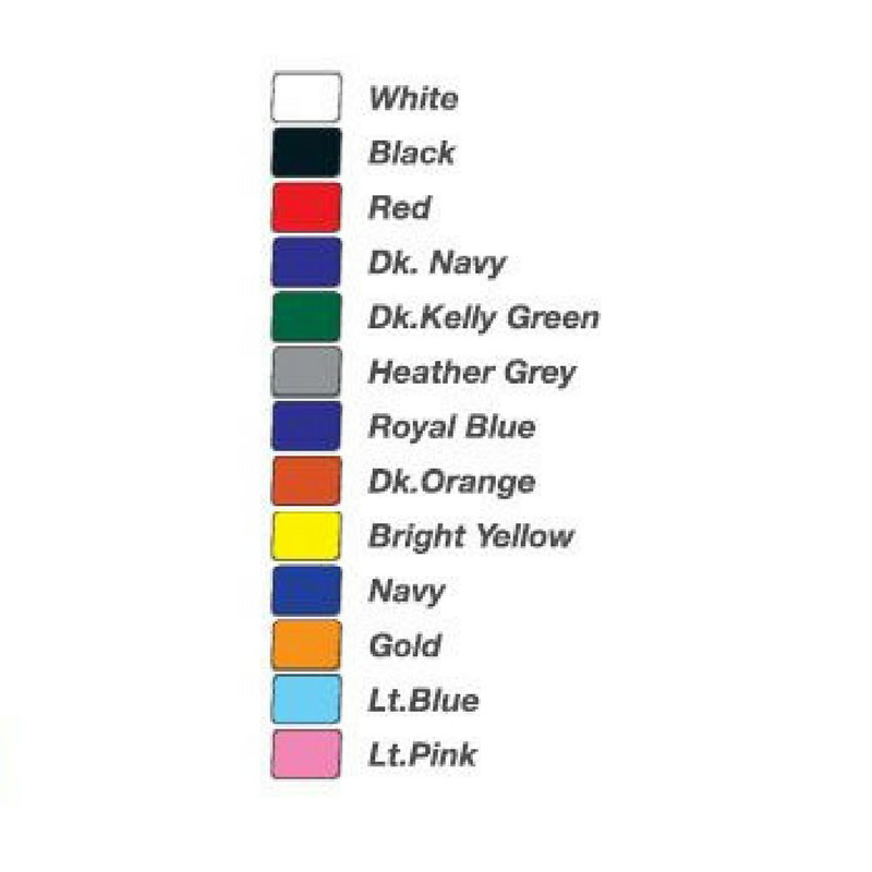 Womens Short Sleeved Cotton Tshirt colours