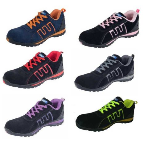 Mens-Safety-Basic-Trainers-Steel-Toe-Cap-Shoes-wrexham