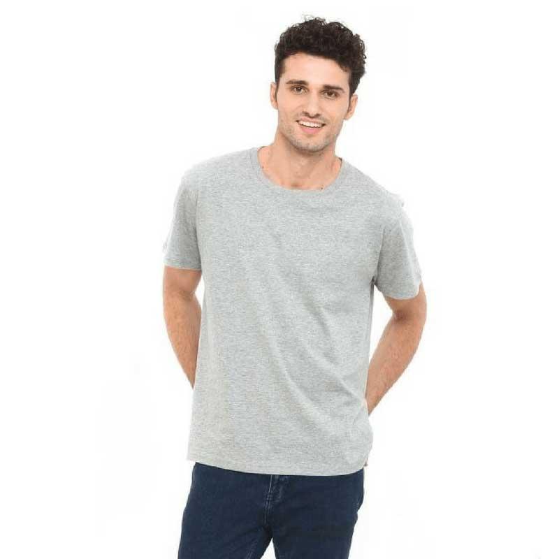 Mens-Short-Sleeved-Cotton-Tshirt-14-Colours-MC180