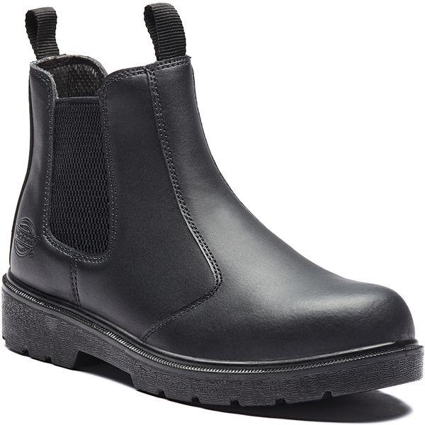 Dickies+Safety+Dealer+Boot+-+Black