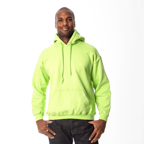 Hooded Safety Green
