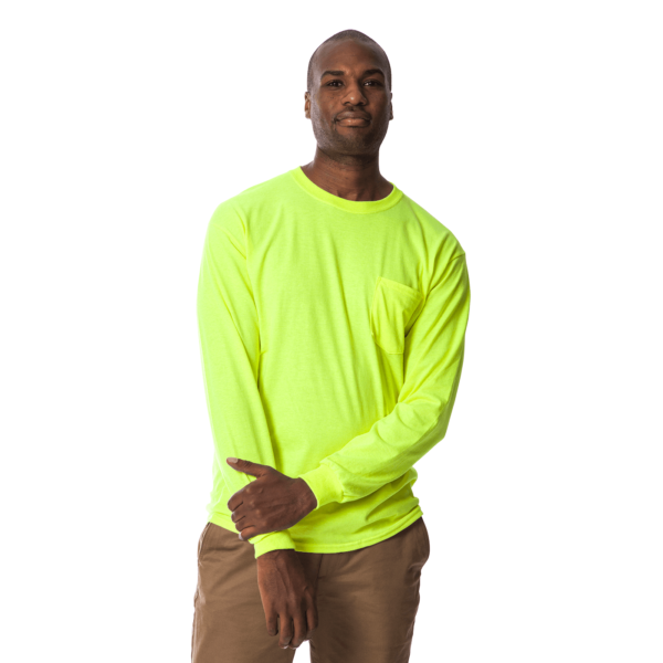 long sleeve polo t shirt green